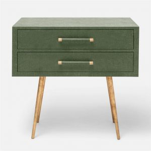 green nightstand