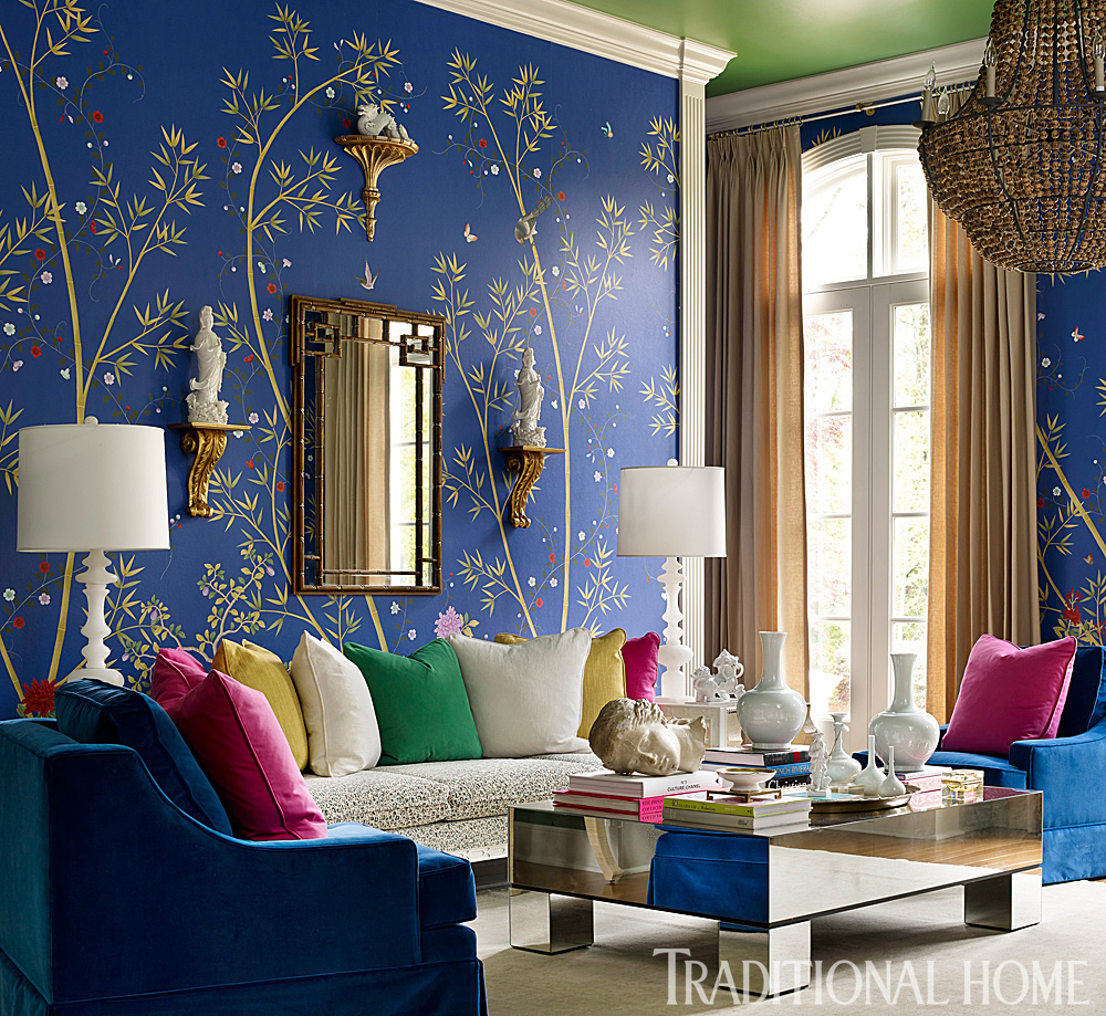Top trend colors of 2019 jewel tones the chroma home - Jewel tone living room ...
