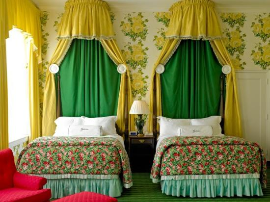 Greenbrier Resort guest room